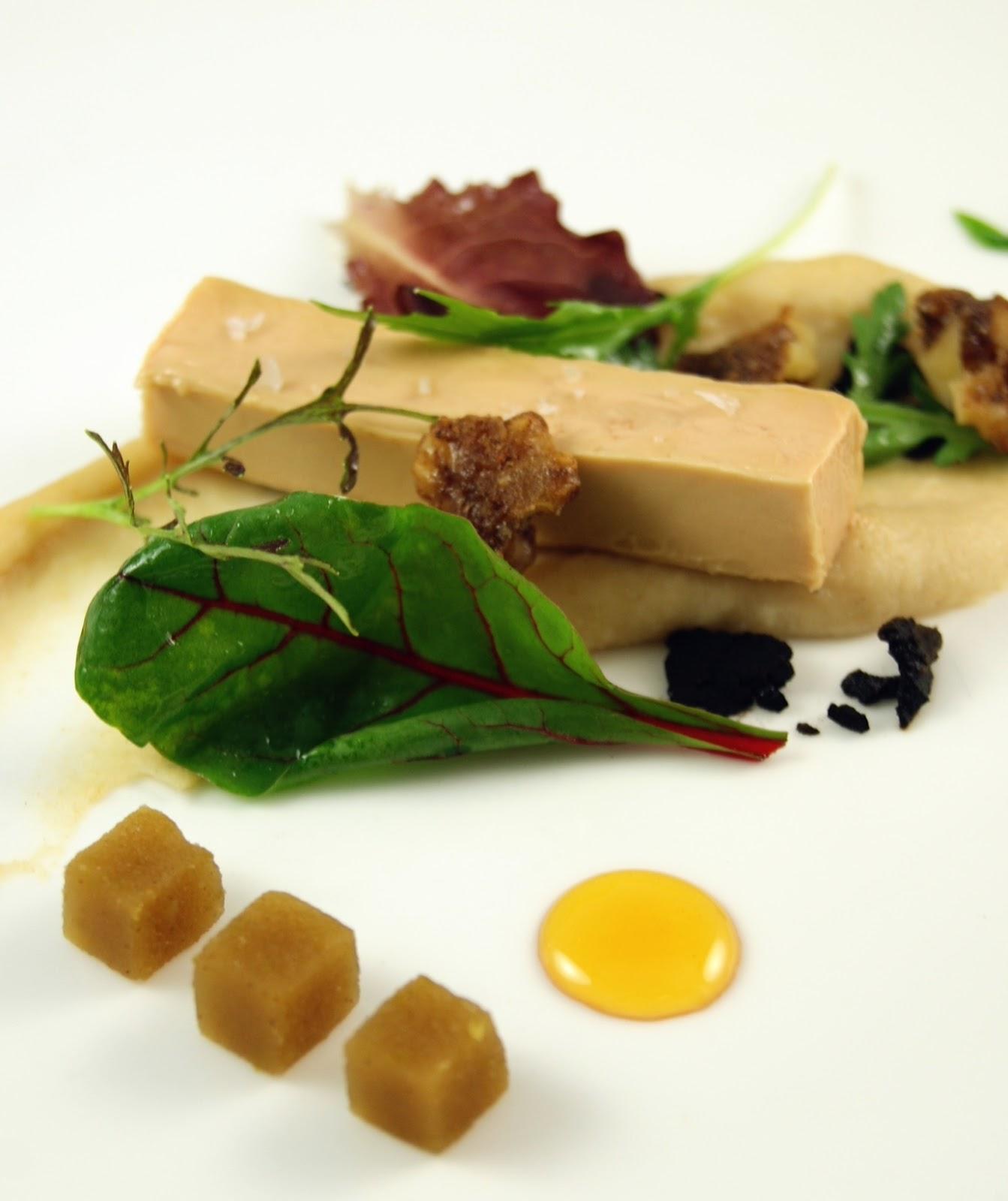 foie gras terrine with brioche puree compressed apple. Black Bedroom Furniture Sets. Home Design Ideas