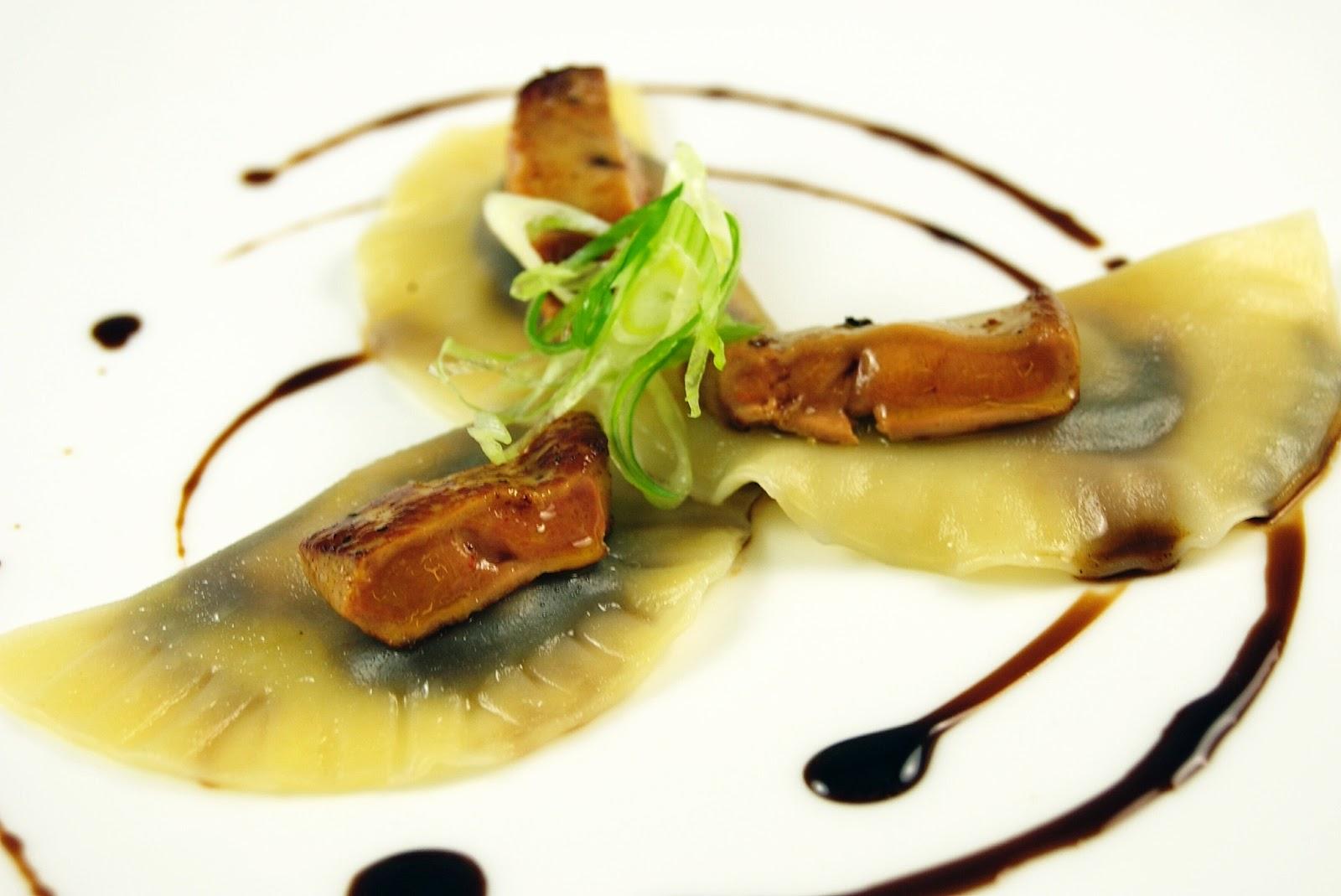 Bacon and Foie Gras Soup Dumplings