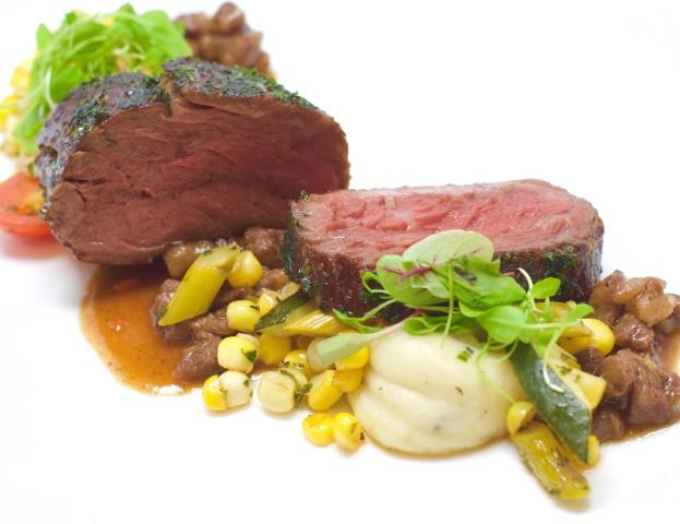 Beef Tenderloin with Short Rib