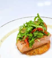 Salmon with Rosti
